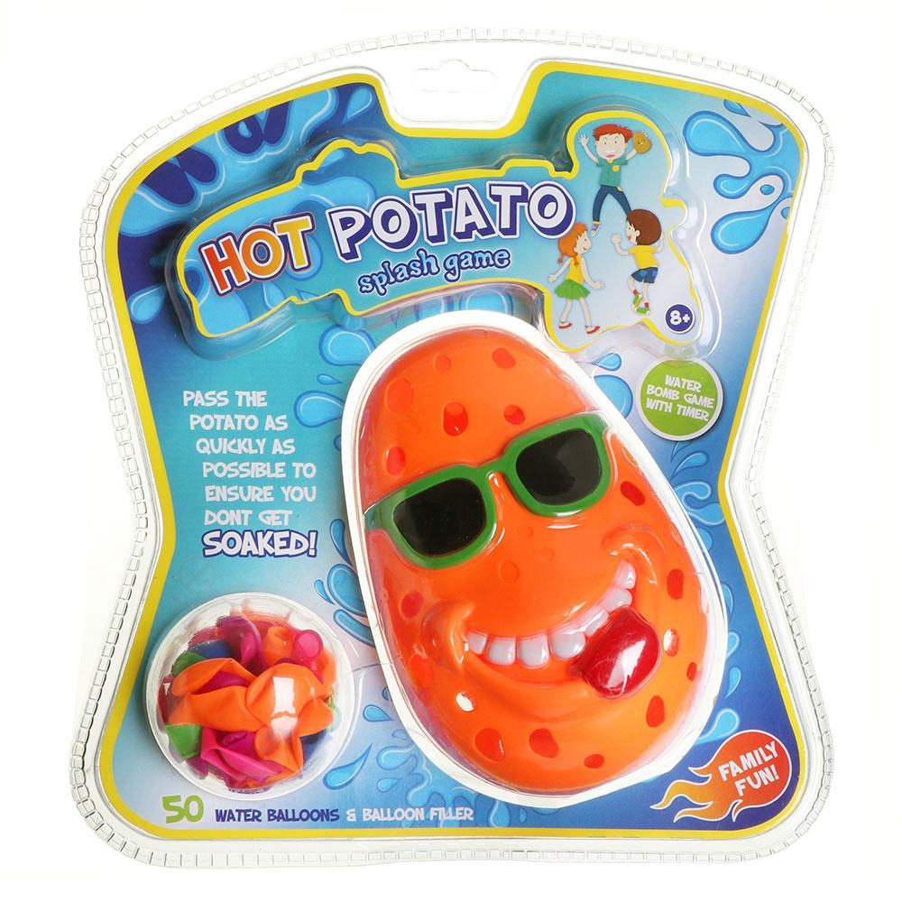Hot Potato Splash Game