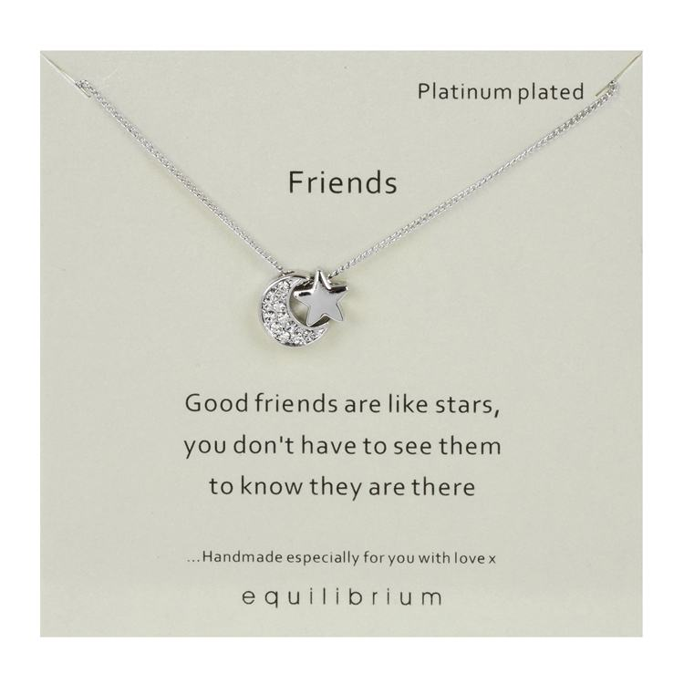 equilibrium sentimental 'friends' necklace