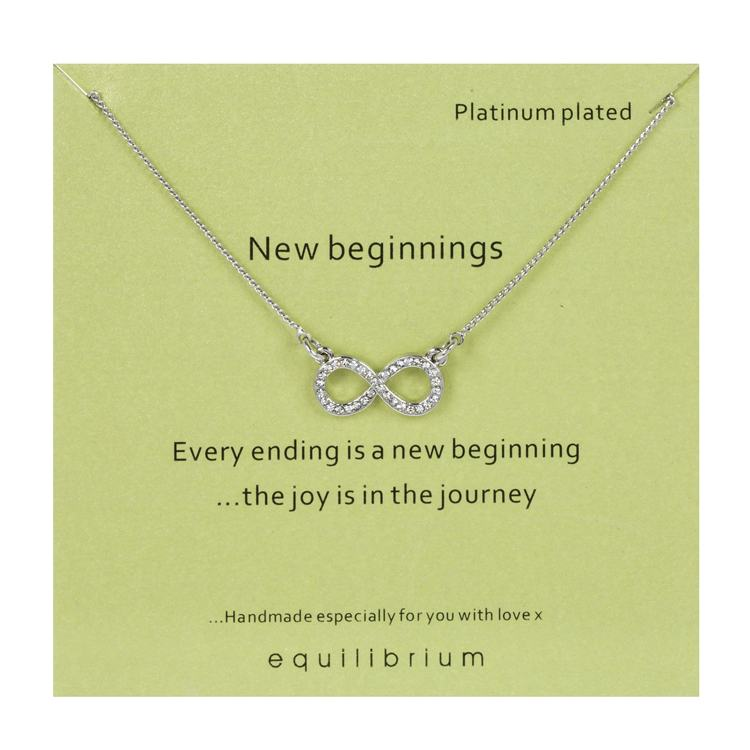 equilibrium sentimental 'new beginnings' necklace
