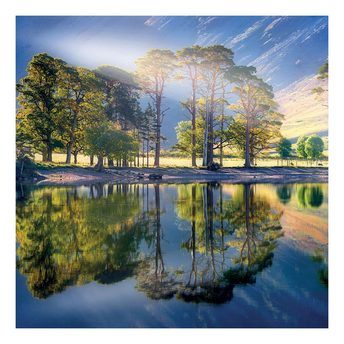 BBC Country File - Buttermere Lake Greeting Card