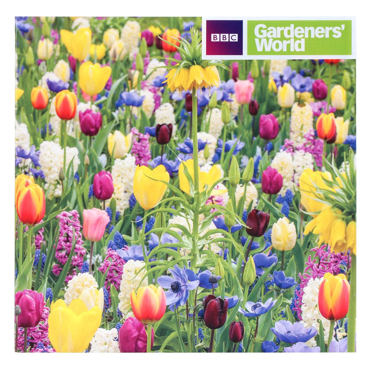 Gardeners' World Tulip Meadow Greeting Card