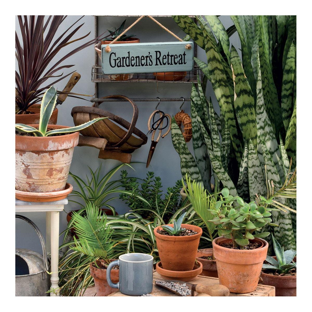 BBC Gardeners' World - Gardener's Retreat Greeting Card