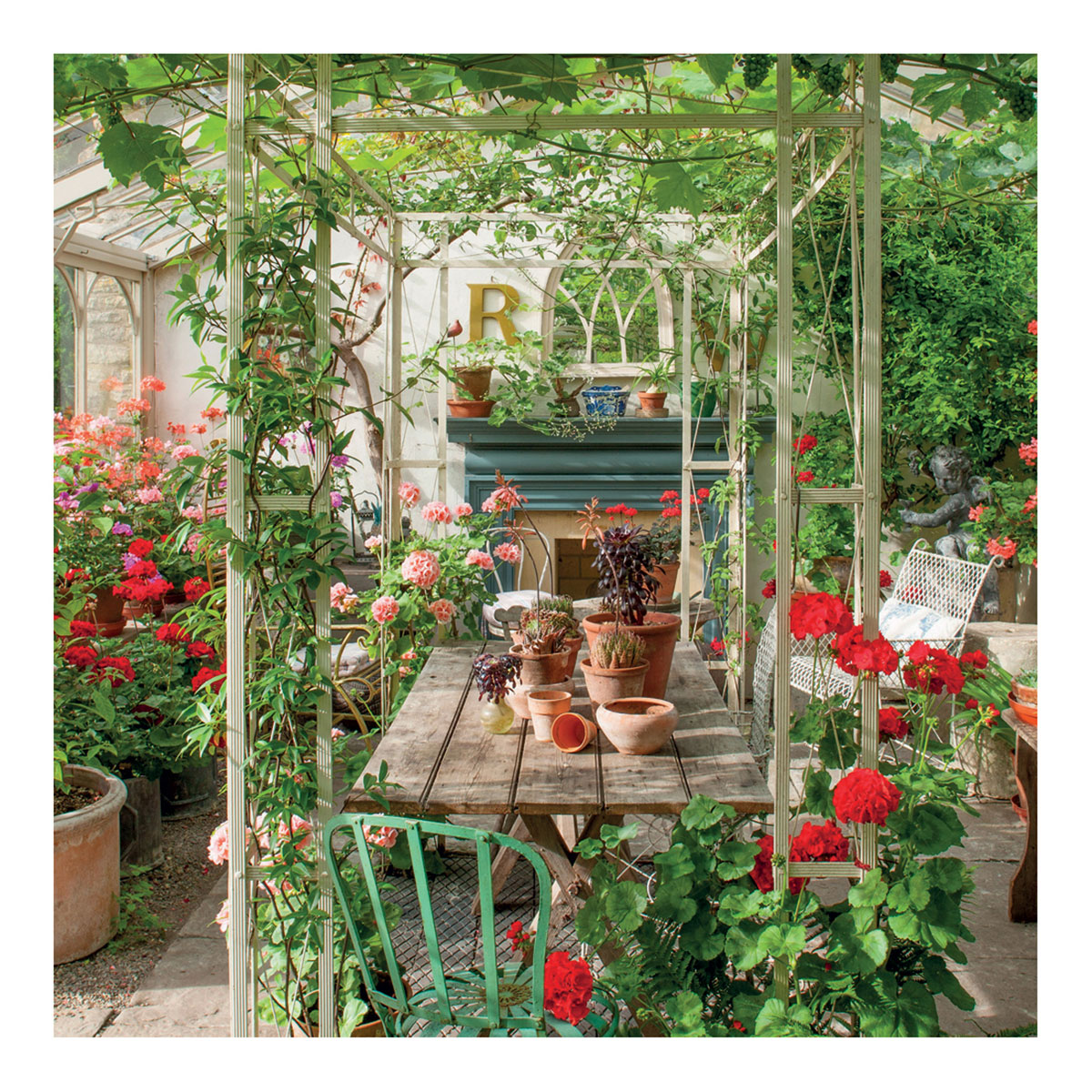 BBC Gardeners' World - The Lodge Greeting Card