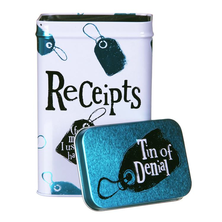 the bright side receipts (tin of denial)