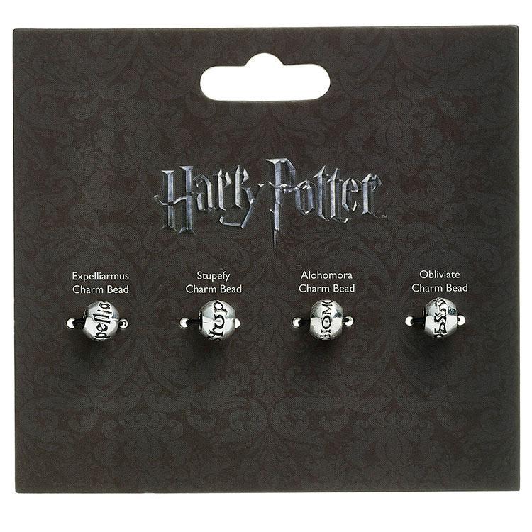 Harry Potter Charm Bead Set of 4 - Spell Beads
