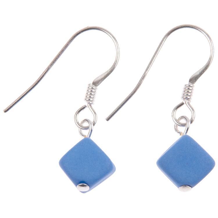 carrie elspeth pastel cubic blue earrings