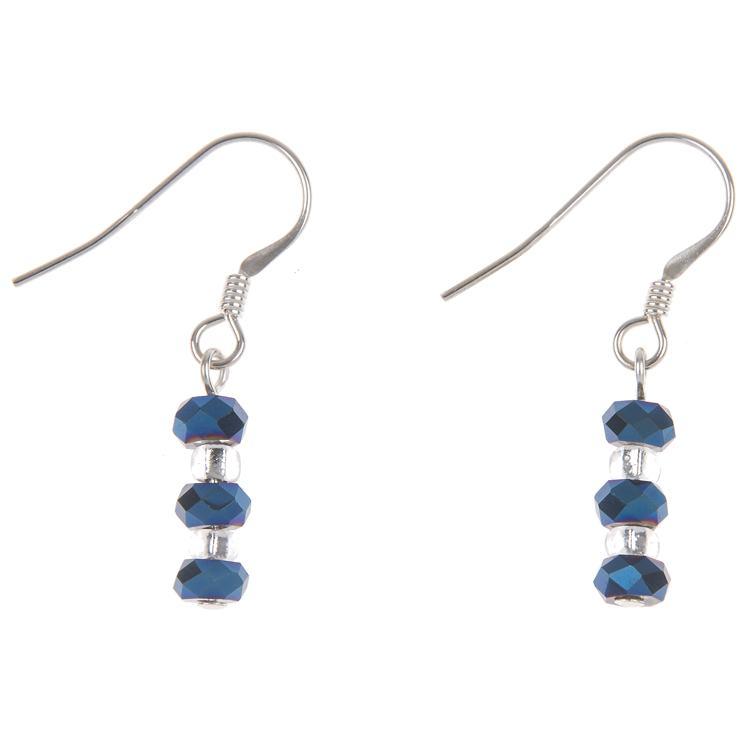 carrie elspeth blue dazzle earrings