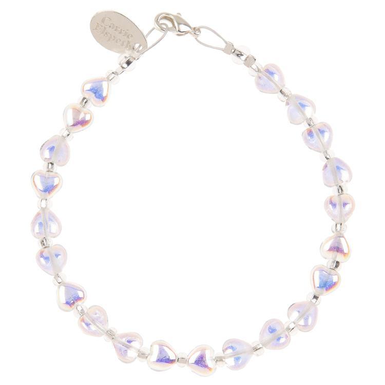 carrie elspeth crystal kissing hearts bracelet