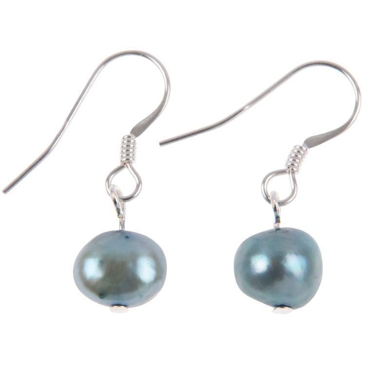 carrie elspeth marine freshwater pearl medley blue earrings