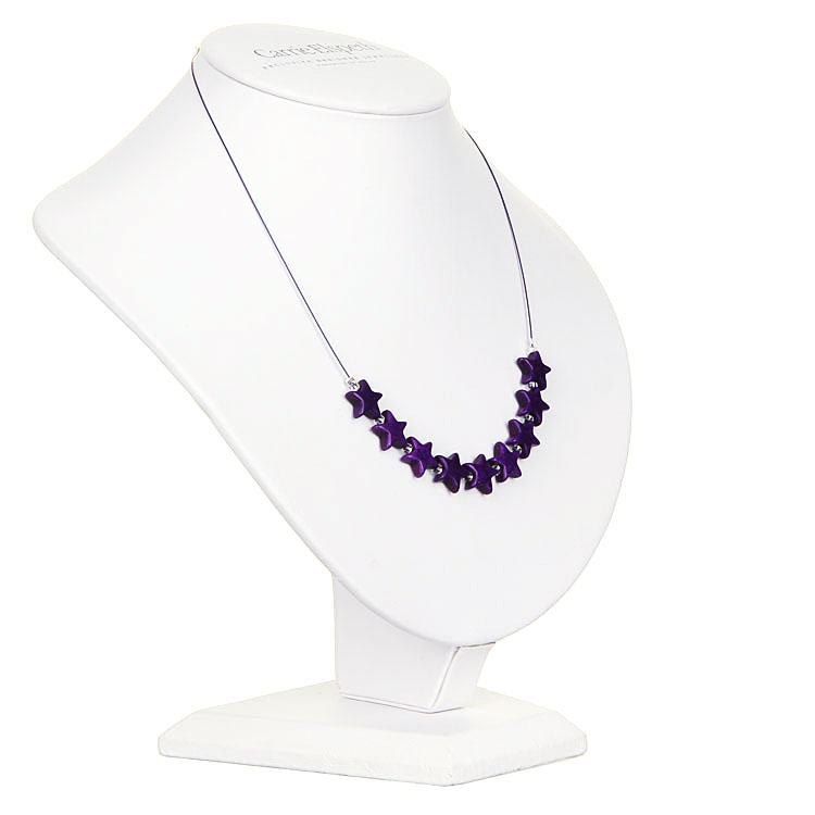 carrie elspeth purple stargazer necklace