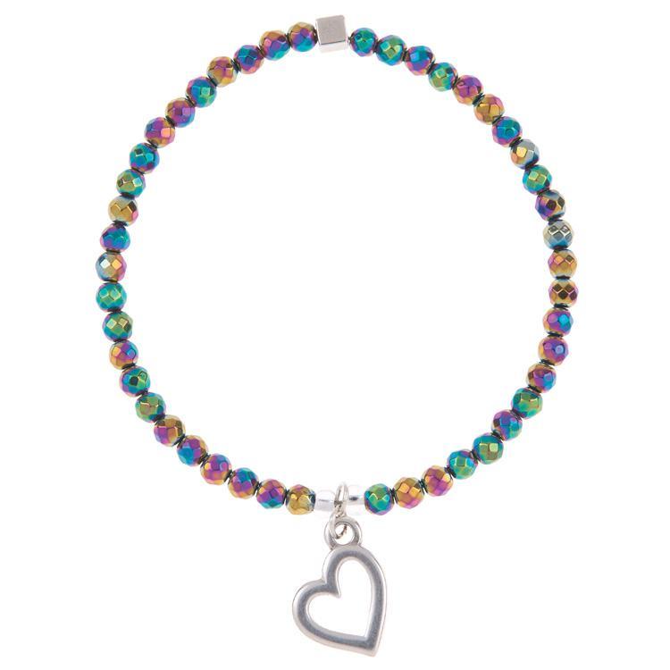carrie elspeth open heart keepsake bracelet