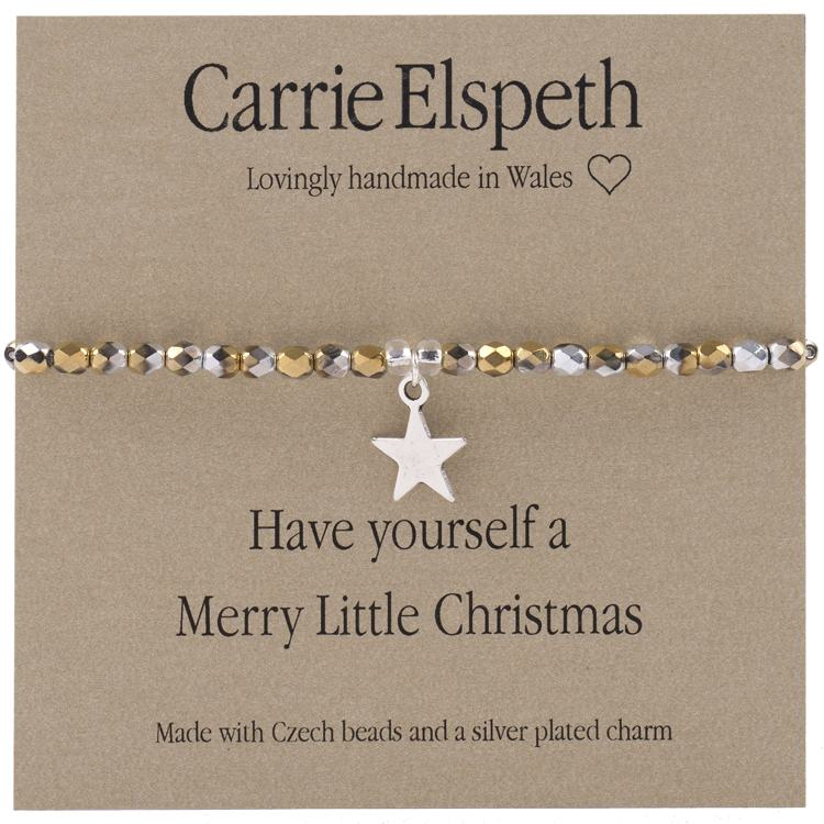 carrie elspeth have yourself a merry little christmas sentiment bracelet