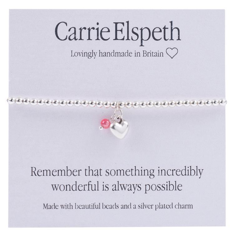 carrie elspeth something wonderful sentiment bracelet