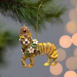 Royal Tiger Tree Decoration