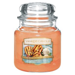 Yankee Candle Grilled Peaches & Vanilla Medium Jar Candle