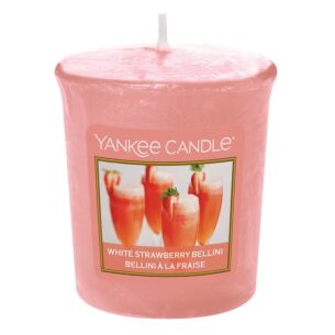 Yankee Candle White Strawberry Bellini Sampler Votive Candle