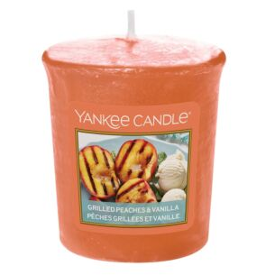 Yankee Candle Grilled Peaches & Vanilla Sampler Votive Candle