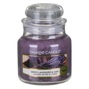 Dried Lavender & Oak Small Jar Candle