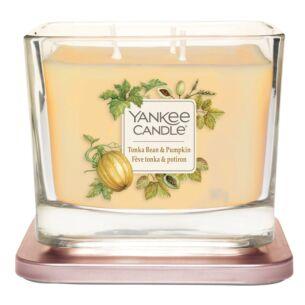Yankee Candle Tonka Bean & Pumpkin Medium Elevation Candle