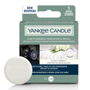 Yankee Candle Fluffy Towels Car Powered Fragrance Diffuser Refill