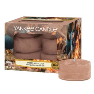 Warm & Cosy Pack of 12 Tealights