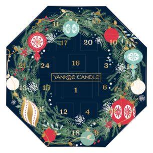 Countdown to Christmas Advent Calendar Wreath