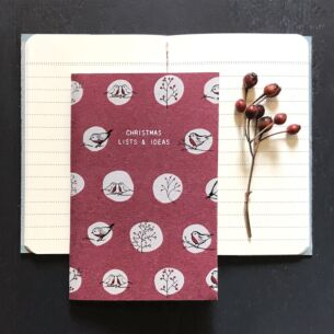 East of India 'Christmas Lists & Ideas' Small Book