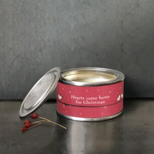 'Hearts Come Home' Christmas Candle