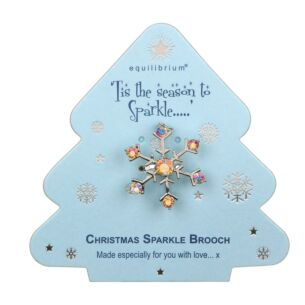 Season to Sparkle Snowflake Brooch