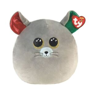 """Chipper Mouse 10"""" Christmas Squishaboo"""