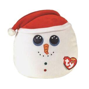 "Flurry Snowman 10"" Christmas Squishaboo"