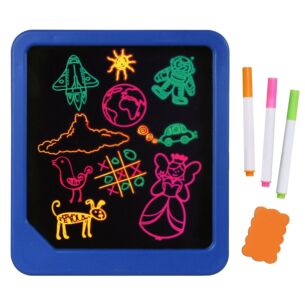 Light Up Neon Glow Doodle Pad