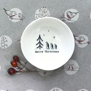 'Merry Christmas' Small Wobbly Bowl