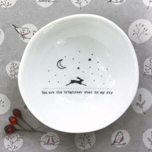 East of India 'Brightest Star' Medium Wobbly Bowl