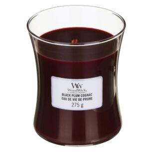 Black Plum Cognac Medium Hourglass Candle