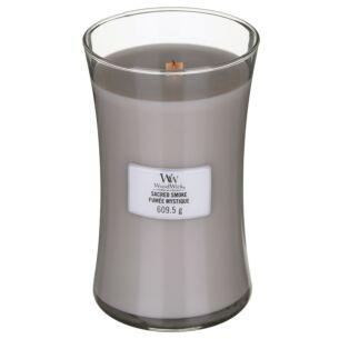 Sacred Smoke Large Hourglass Candle