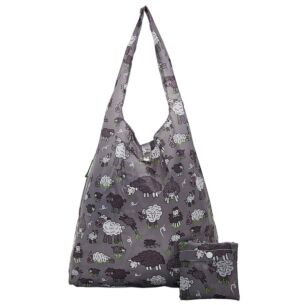 Grey Sheep Foldaway Shopper Bag