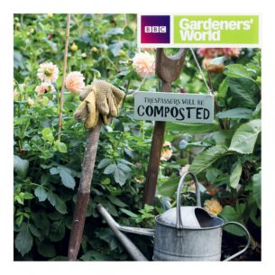 Gardeners' World - Trespassers Will Be Composted Greeting Card