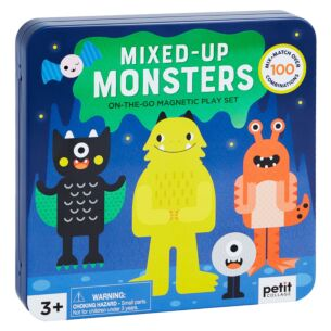 Mixed-Up Monsters Magnetic Play Set