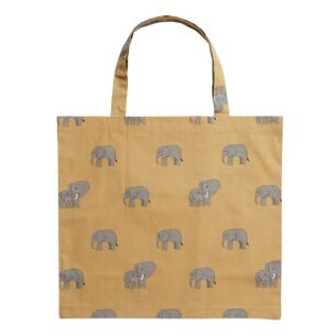 ZSL Elephant Folding Shopping Bag