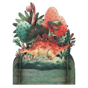 Dinosaur 3D Pop Up Card