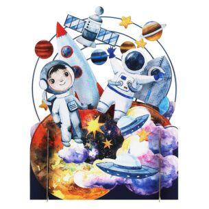 Space 3D Pop Up Card