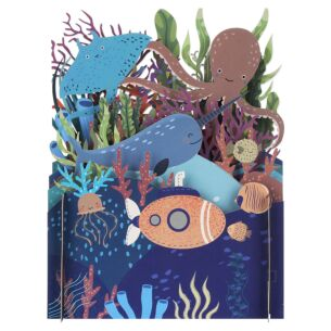 Under The Sea 3D Pop Up Card