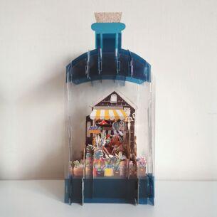 Flower Shop 3D Keepsake Art Bottle with Mini Card