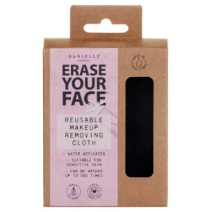 Black Erase Your Face Reusable Makeup Removing Cloth