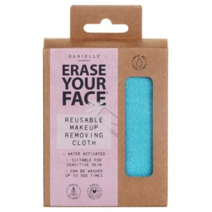 Turquoise Erase Your Face Makeup Removing Cloth