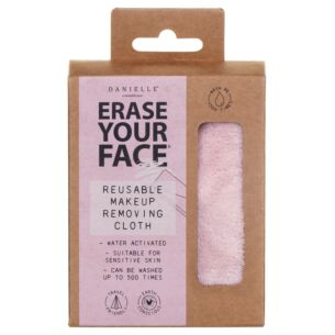 Pastel Pink Erase Your Face Eco Reusable Makeup Removing Cloth