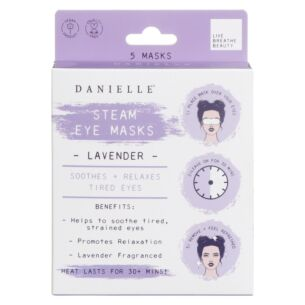 Lavender Set of 5 Steam Eye Masks