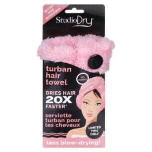 Coral Pink Hair Turban