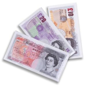 Bank Note Napkins - Choice of 3 designs